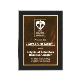 Red Guelph Acrylic Plaque